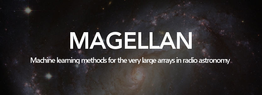MAGELLAN Machine learning methods for the very large arrays in radio astronomy